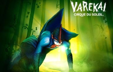 Цирк дю Солей с шоу Varekai (Варекай)