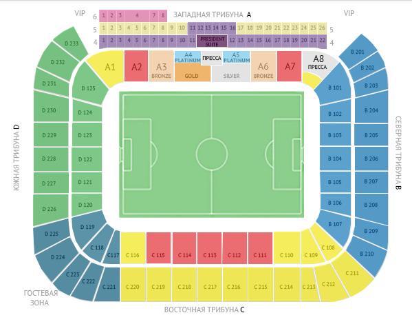 билеты Открытие Арена