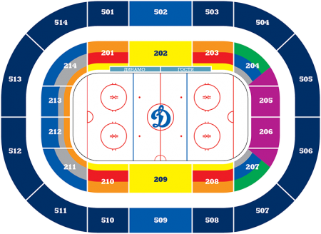 Расписание матчей чемпионата мира по хоккею в Москве