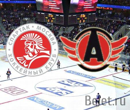 хоккей Спартак-Автомобилист