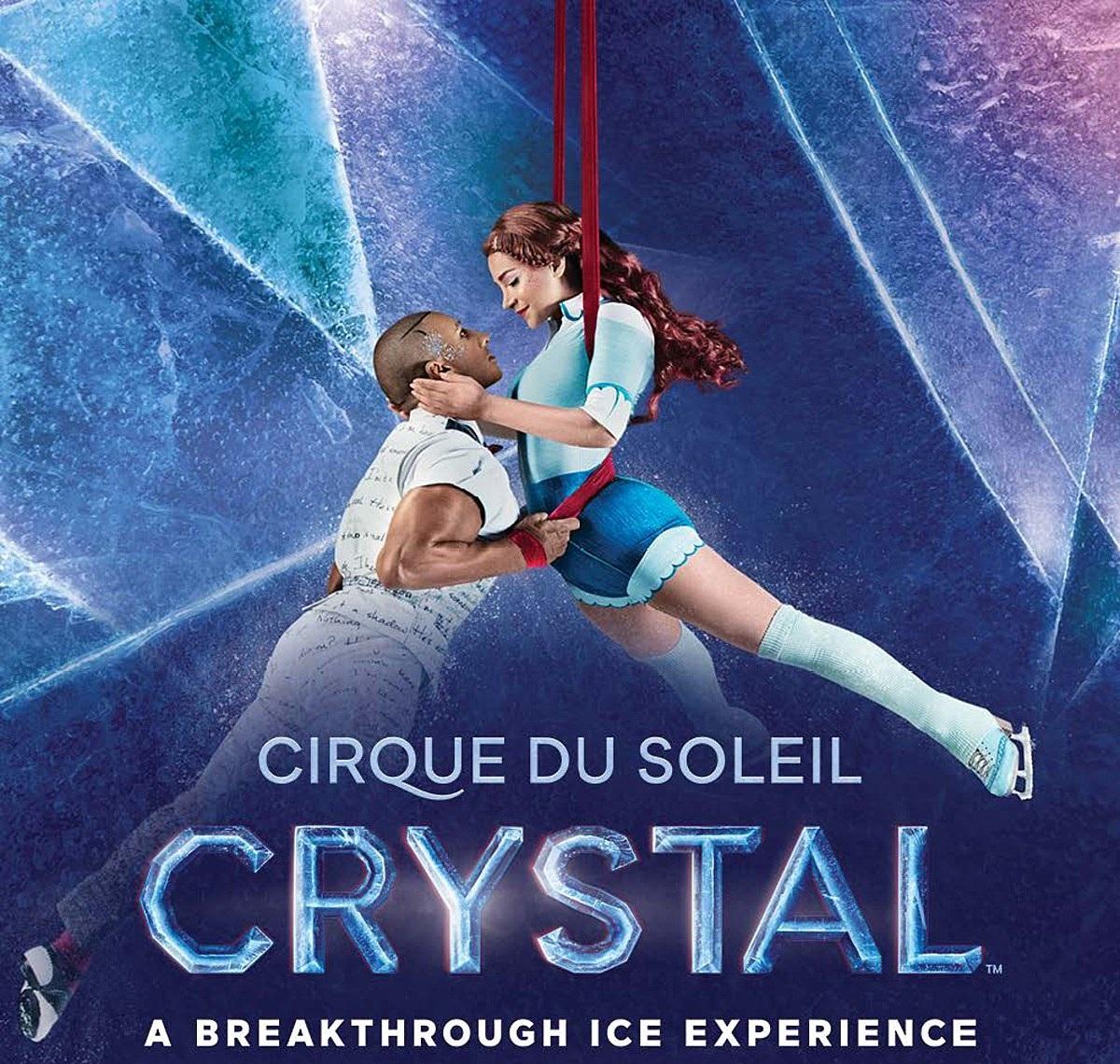 Купить билеты в цирк Дю Солей - CRYSTAL