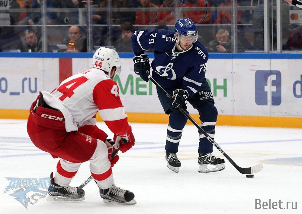 Билеты на хоккей Спартак-Динамо